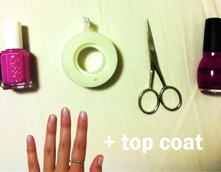 Diy nail art tessas homemade your old manicure nail prinsesfo Gallery