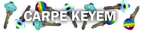 HEADER DIY Key Decorations Carpe Keyem