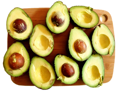 Ewok Guacamole Avocados