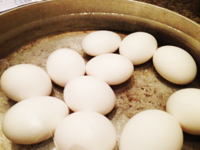 How to Hard Boil Eggs - Step Two - Tessas Homemade